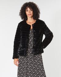 textil Dame Frakker Lauren Ralph Lauren FAUX CHUBBY Sort