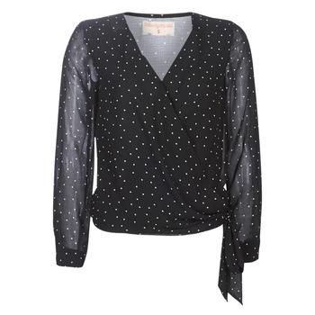 textil Dame Toppe / Bluser Moony Mood LUKE Sort
