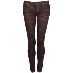 textil Dame Smalle jeans Fracomina  Rød