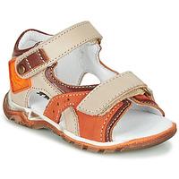 Sko Dreng Sandaler GBB EROPE Beige / Orange