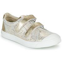 Sko Pige Lave sneakers GBB NOELLA Hvid / Guld