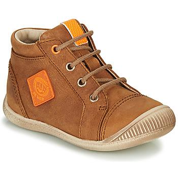 Sko Dreng Høje sneakers GBB TARAVI Brun