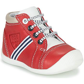 Sko Dreng Høje sneakers GBB GABRI Rød