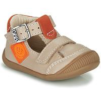 Sko Dreng Sandaler GBB BOLINA Beige / Orange