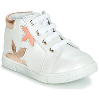 Sko Pige Høje sneakers GBB ALEXA Hvid