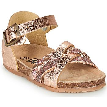 Sko Pige Sandaler GBB ALECTA Pink / Guld
