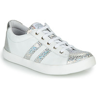 Sko Pige Lave sneakers GBB MAPLUE Hvid / Sølv