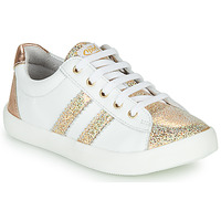 Sko Pige Lave sneakers GBB MAPLUE Hvid / Guld