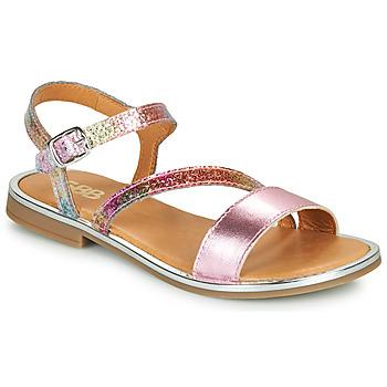 Sko Pige Sandaler GBB FANA Pink / Flerfarvet