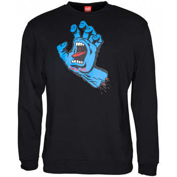 textil Herre Sweatshirts Santa Cruz Screaming hand Sort