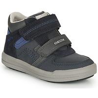 Sko Dreng Lave sneakers Geox ARZACH M Marineblå