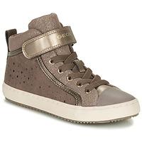 Sko Pige Lave sneakers Geox KALISPERE Beige