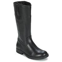 Sko Pige Chikke støvler Geox SOFIA B Sort