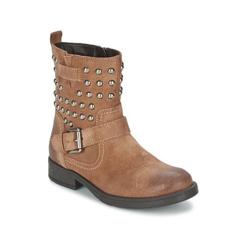 Sko Pige Chikke støvler Geox SOFIA C Brun