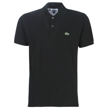 textil Herre Polo-t-shirts m. korte ærmer Lacoste POLO L12 12 REGULAR Sort