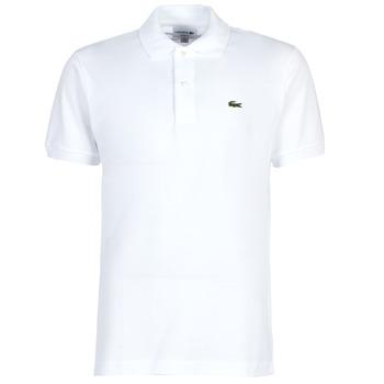 textil Herre Polo-t-shirts m. korte ærmer Lacoste POLO L12 12 REGULAR Hvid