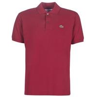 textil Herre Polo-t-shirts m. korte ærmer Lacoste POLO L12 12 REGULAR Bordeaux