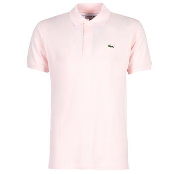 textil Herre Polo-t-shirts m. korte ærmer Lacoste POLO L12 12 REGULAR Pink