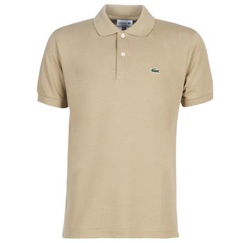 textil Herre Polo-t-shirts m. korte ærmer Lacoste POLO L12 12 REGULAR Beige
