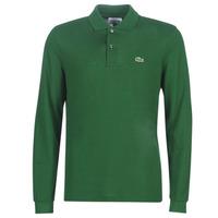 textil Herre Polo-t-shirts m. lange ærmer Lacoste L1312 Grøn