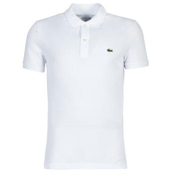 textil Herre Polo-t-shirts m. korte ærmer Lacoste PH4012 SLIM Hvid