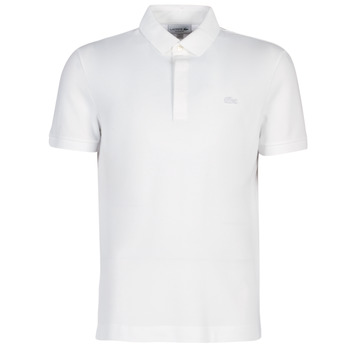 textil Herre Polo-t-shirts m. korte ærmer Lacoste PARIS POLO REGULAR Hvid