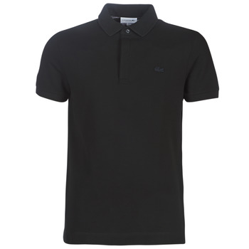 textil Herre Polo-t-shirts m. korte ærmer Lacoste PARIS POLO REGULAR Sort