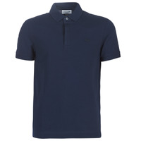 textil Herre Polo-t-shirts m. korte ærmer Lacoste PARIS POLO REGULAR Marineblå