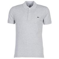 textil Herre Polo-t-shirts m. korte ærmer Lacoste PH4012 SLIM Grå
