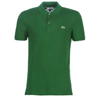 textil Herre Polo-t-shirts m. korte ærmer Lacoste PH4012 SLIM Grøn