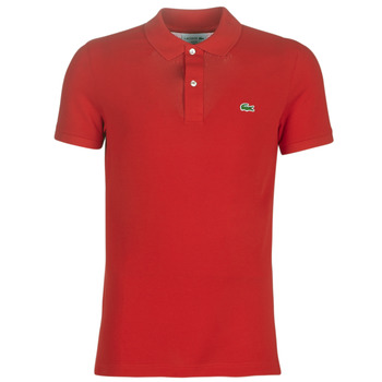 textil Herre Polo-t-shirts m. korte ærmer Lacoste PH4012 SLIM Rød