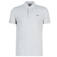 textil Herre Polo-t-shirts m. korte ærmer Lacoste PARIS POLO REGULAR Grå