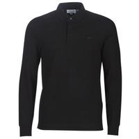 textil Herre Polo-t-shirts m. lange ærmer Lacoste PH2481 REGULAR Sort