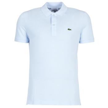 textil Herre Polo-t-shirts m. korte ærmer Lacoste PH4012 SLIM Blå