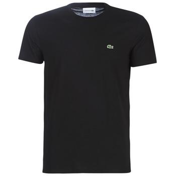 textil Herre T-shirts m. korte ærmer Lacoste TH6709 Sort