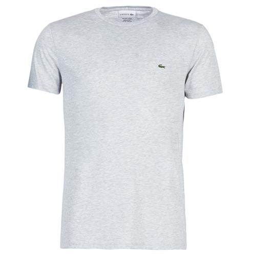 textil Herre T-shirts m. korte ærmer Lacoste TH6709 Grå