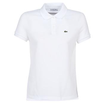textil Dame Polo-t-shirts m. korte ærmer Lacoste PF7839 Hvid