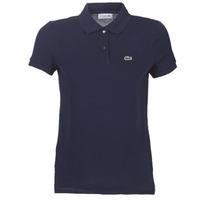 textil Dame Polo-t-shirts m. korte ærmer Lacoste PF7839 Marineblå