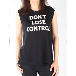textil Dame Toppe / T-shirts uden ærmer Lee T-shirt  Muscle Tank Black L42CPB01 black