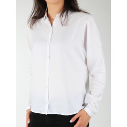 textil Dame Skjorter / Skjortebluser Wrangler Relaxed Shirt W5213LR12 white