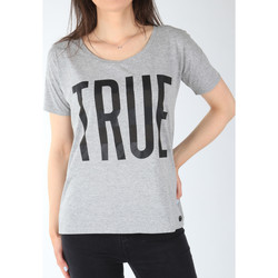 textil Dame T-shirts m. korte ærmer Lee T-shirt  Ultimate Tee L42JEP37 grey