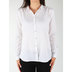 textil Dame Skjorter / Skjortebluser Wrangler L/S Relaxed Shirt W5190BD12 white