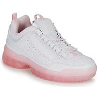 Sko Dame Lave sneakers André BRILLANTE Pink