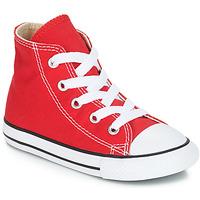 Sko Børn Høje sneakers Converse CHUCK TAYLOR ALL STAR CORE HI Rød