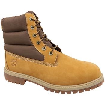 Sko Børn Vandresko Timberland 6 In Premium Boot jaune