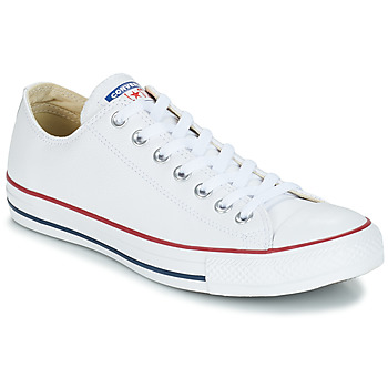 Sko Lave sneakers Converse Chuck Taylor All Star CORE LEATHER OX Hvid