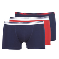Undertøj Herre Trunks DIM DAILY COLORS BOXER x3 Blå / Rød