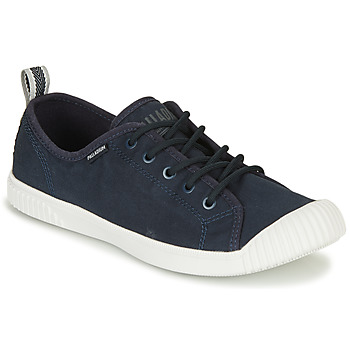 Sko Dame Lave sneakers Palladium EASY LACE Marineblå
