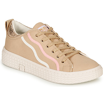 Sko Dame Lave sneakers Palladium TEMPO 02 CVS Beige