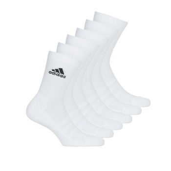 Accessories Sportsstrømper adidas Performance CUSH CRW 6PP Hvid